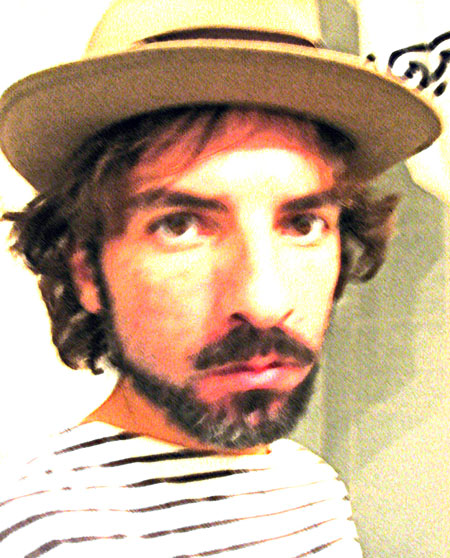 Photo of the author: DAVID CRESPO