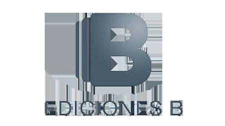 Ediciones B logo and link