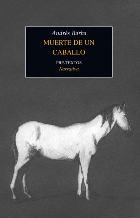 Copertina del libro MUERTE DE UN CABALLO