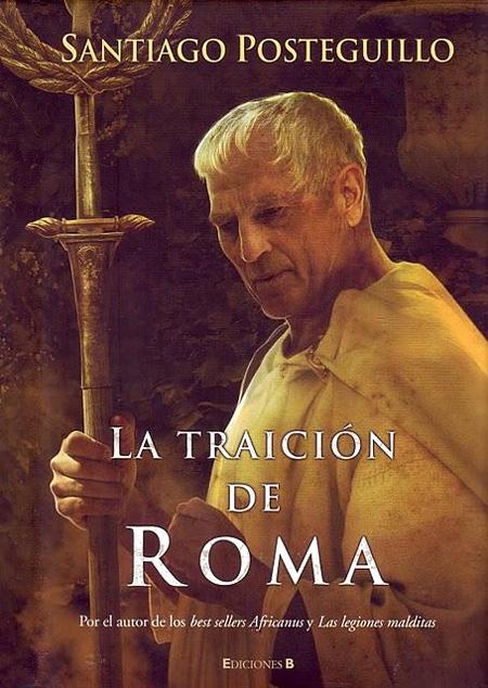 Copertina del libro LA TRAICIÓN DE ROMA