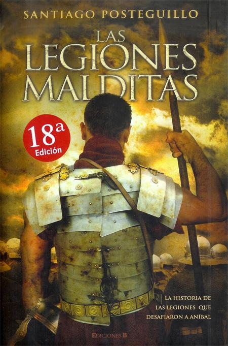 Copertina del libro LEGIONES MALDITAS