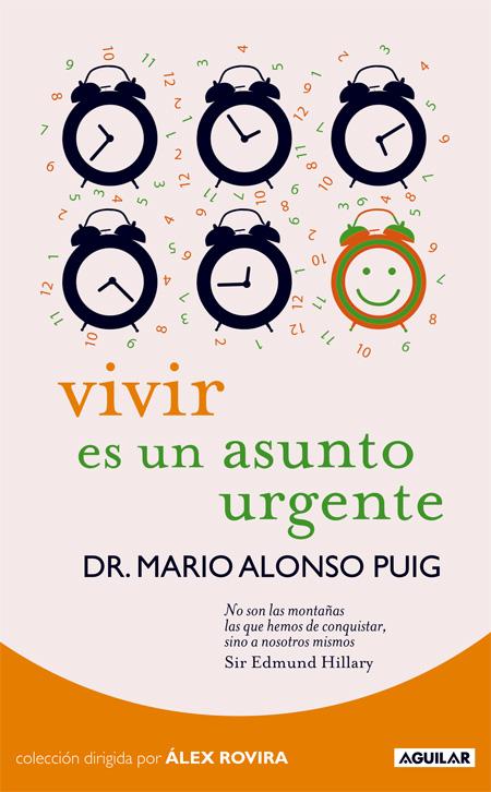 Cover of VIVIR ES UN ASUNTO URGENTE