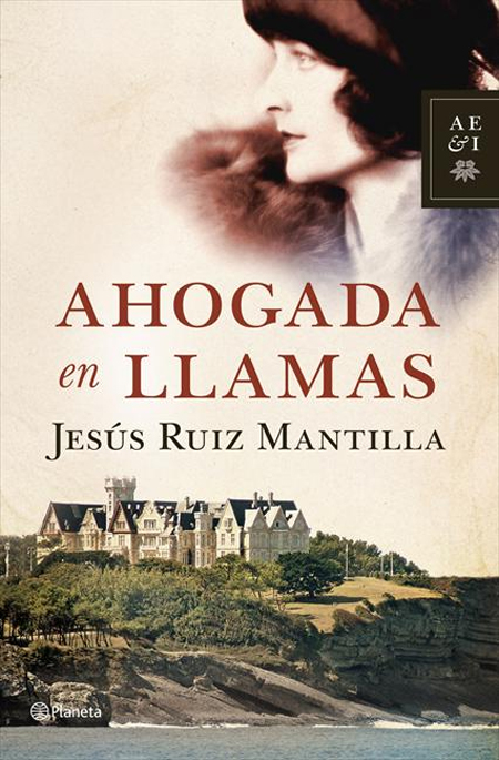 Cover of AHOGADA EN LLAMAS