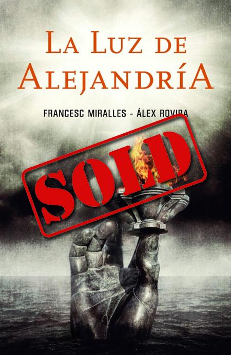 Copertina del libro LA LUZ DE ALEJANDRIA