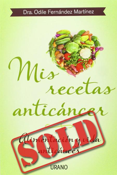 Cover of the book MIS RECETAS ANTICÁNCER
