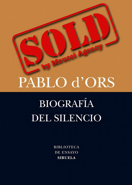 Copertina del libro BIOGRAFÍA DEL SILENCIO