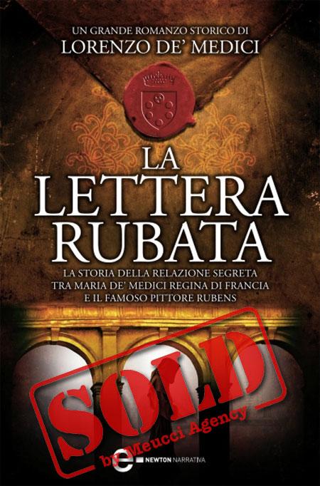 Copertina del libro LA LETTERA RUBATA
