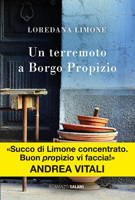 Cover of UN TERREMOTO A BORGO PROPIZIO
