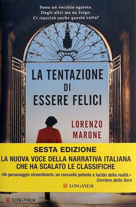 Cover of LA TENTAZIONE DI ESSERE FELICI