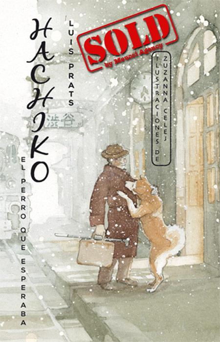 Copertina del libro HACHIKO