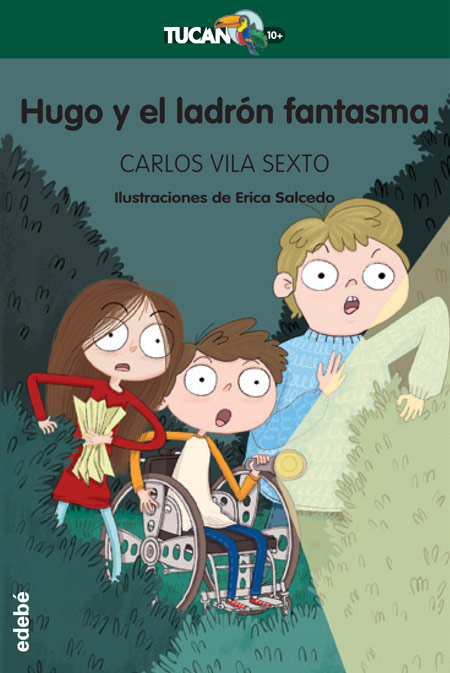 Cover of HUGO Y EL LADRÓN FANTASMA