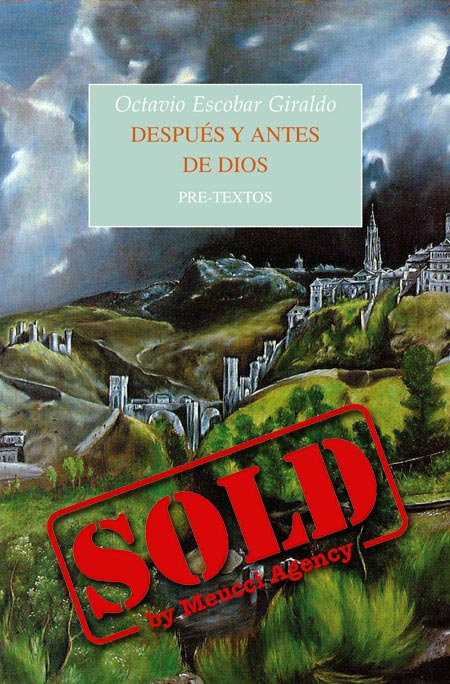 Copertina del libro DESPUÉS Y ANTES DE DIOS