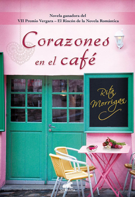 Cover of CORAZONES EN EL CAFÉ