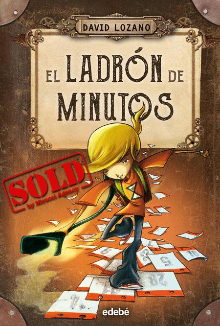 Copertina del libro EL LADRÓN DE MINUTOS