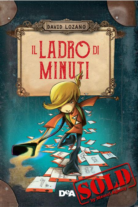 Cover of IL LADRO DI MINUTI