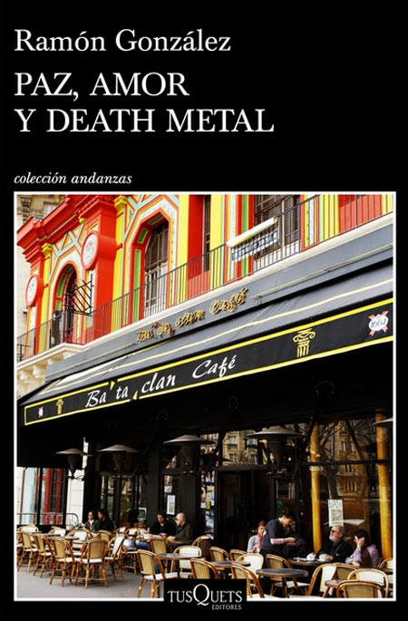 Cover of PAZ, AMOR Y DEATH METAL