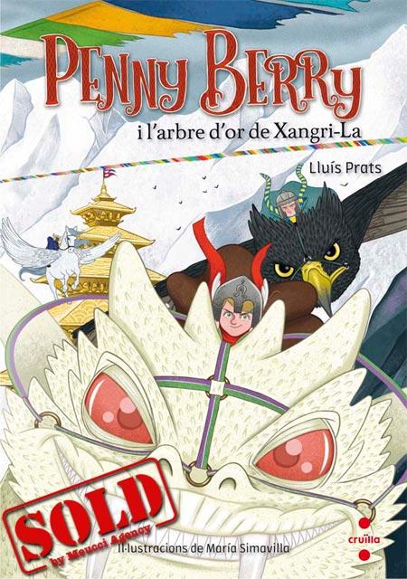 Copertina del libro  PENNY BERRY I L'ARBRE D'OR DE XANGRI-LA