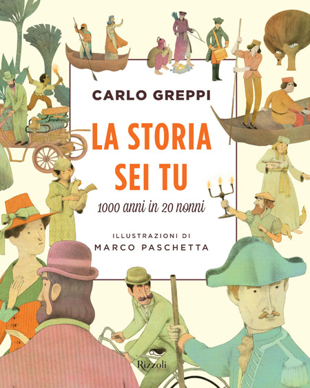 Cover of LA STORIA SEI TU